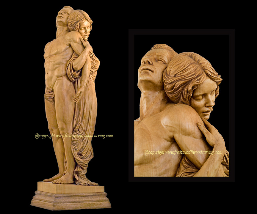 Fabulous Custom carved wood sculptures | Wood Carving and Sculpting by Fred  SC05